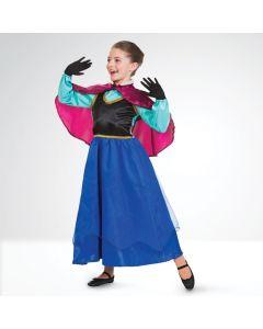 Frozen Anna - Costume Principessa delle Nevi