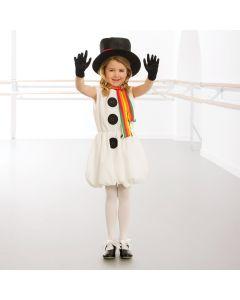 Costume da Pupazzo di Neve - Bambina