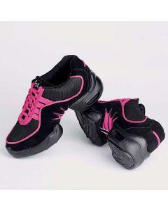 1st Position Dance Sneakers con Suola Smezzata