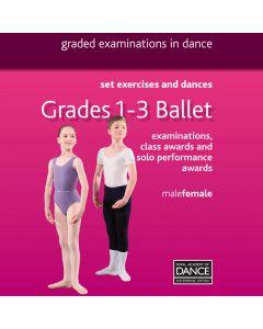 RAD DVD Danza Classica Gradi 1-3