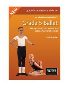 Libro Esercizi Impostati e Danze per Balletto Grado 5