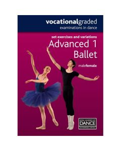 RAD Advanced 1 Male/Female Ballet DVD