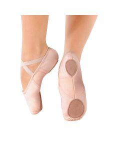So Danca Scarpa da Balletto in Canvas con Inserto Stretch