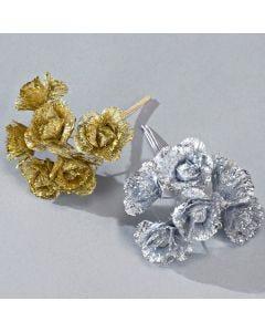 Fiorellini Glitterati (mazzo da 6)