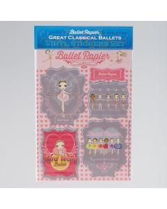 Ballet Papier Confezione di Adesivi in Vinile