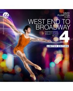 West End to Broadway 4 - Ballet Class Music CD