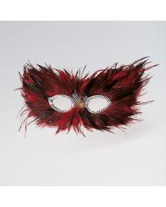 Maschera di Piume (Rosso)