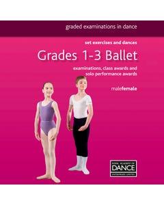 RAD Libro Danza Classica Gradi 1-3