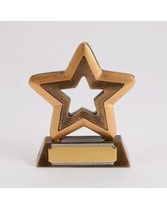 Trofeo Contorno di Stella in Resina