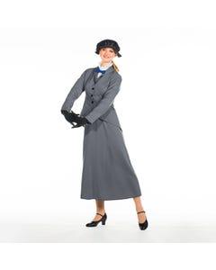 Costume da Mary Poppins (Pappillon Rosso) - Taglia Unica Adulto