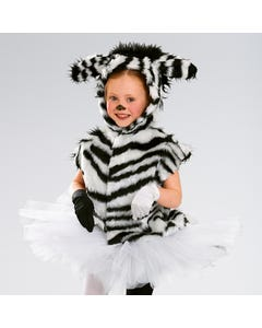 Tabarro da Zebra - Taglia Unica Bambino