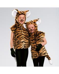 Tabarro da Tigre - Taglia Unica Bambino